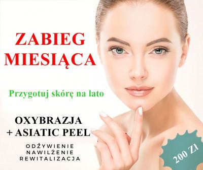 Oxybrazja + Asiatic Peel